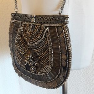 FREE PEOPLE SMALL BEADED PURSE